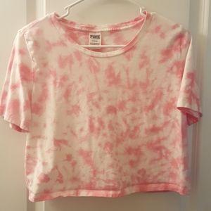 Pink Victoria Secret crop top